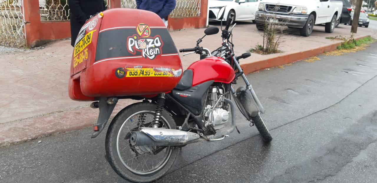 Derriban a motociclista en Monclova
