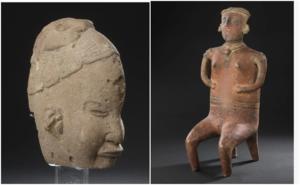 Francia vende seis piezas prehispánicas de México
