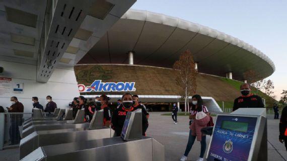 Chivas prepara reapertura del Akron