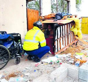 Alberga Protección Civil de Monclova a indigentes y a inmigrantes