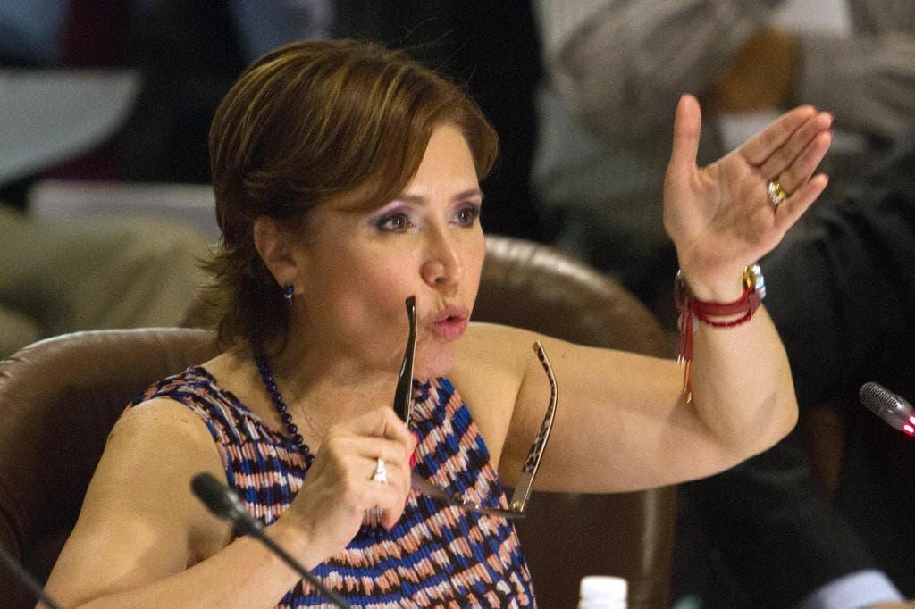 Rosario Robles formaliza ante FGR intención de colaborar para obtener su libertad