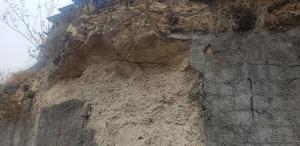Vecinos de Los Bosques temen deslave de loma