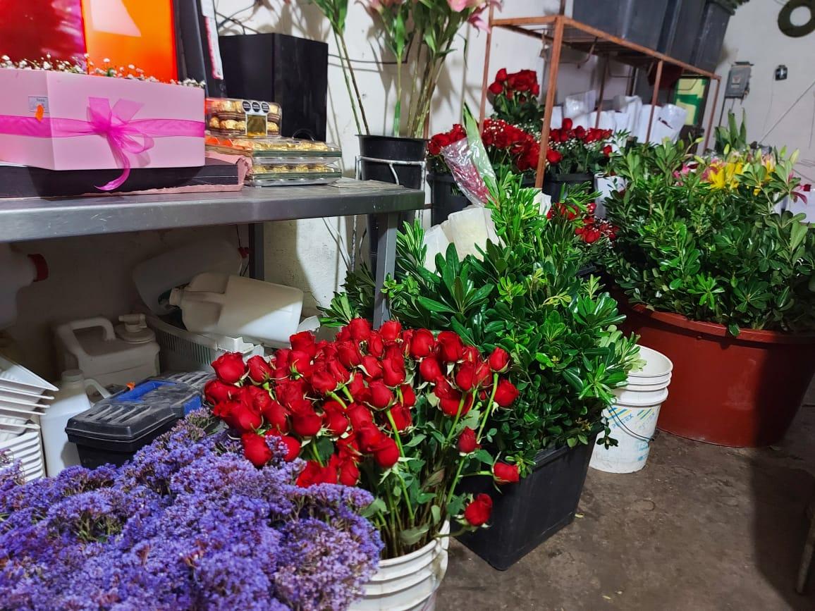 Se desploma la venta de flores un 50%