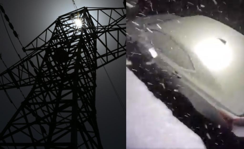 Reportan varios servicios afectados por apagón en estados del Norte