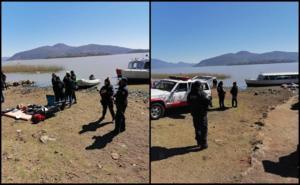 Buscan a padre e hija tras caer de moto acuática en Lago de Pátzcuaro