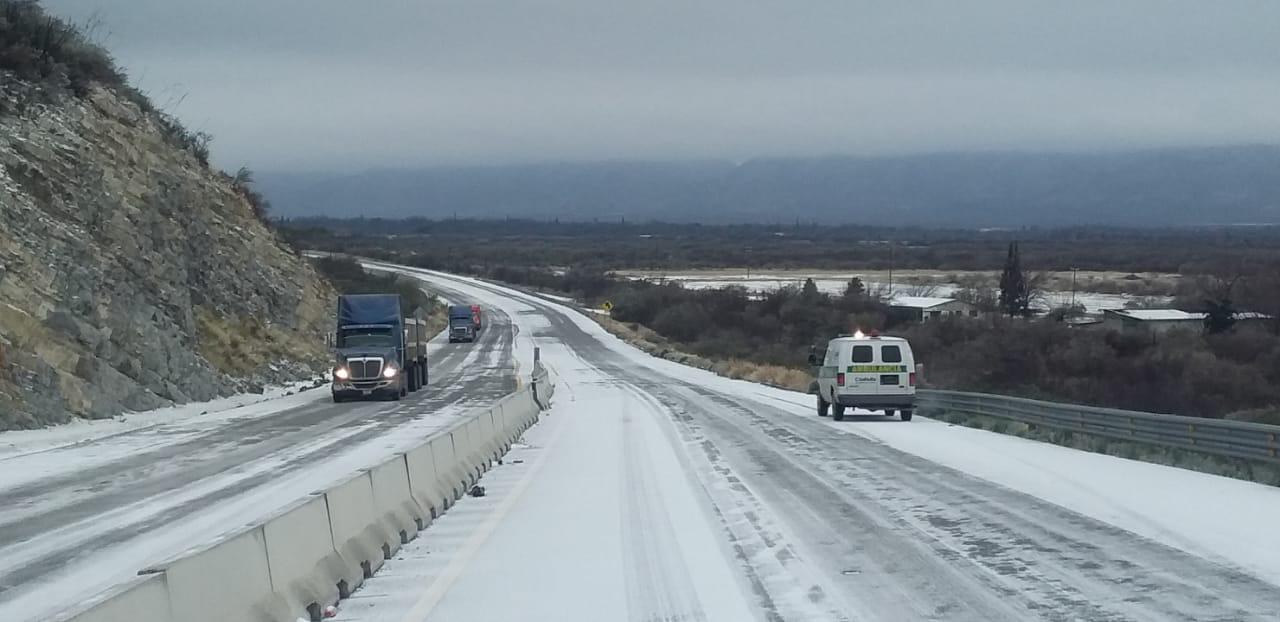 Hielo en carreteras provoca ausentismo en las empresas