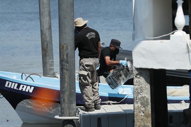 La Fiscalía destruye 500 kilogramos de droga incautada en costas salvadoreñas
