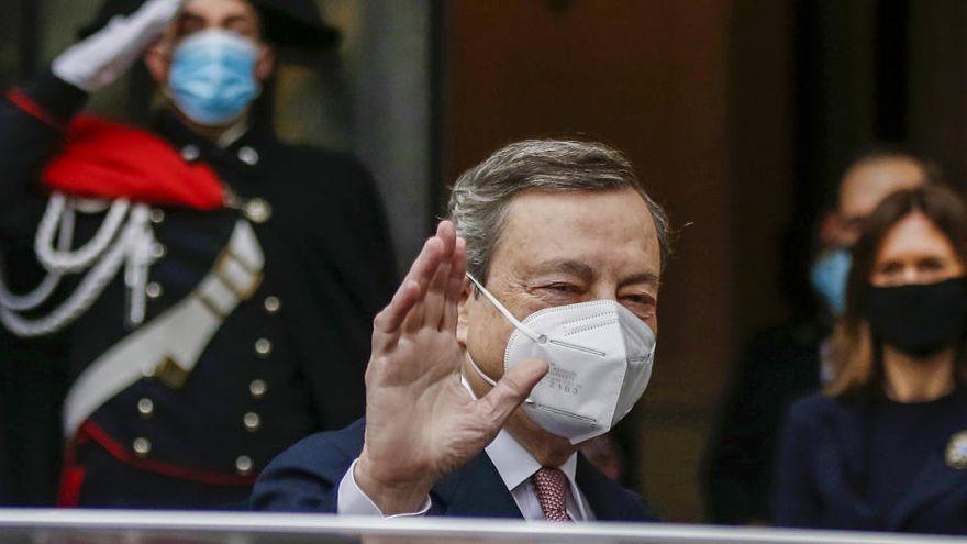 Draghi apuesta por el europeísmo y las reformas para Italia