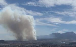 Combaten nuevo incendio en zona del Nevado de Toluca