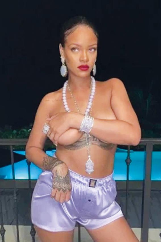 Polémica en la India por fotos de Rihanna
