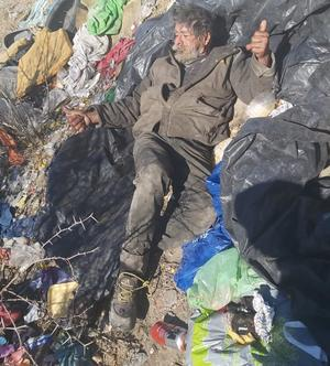 Reportan muerto a indigente