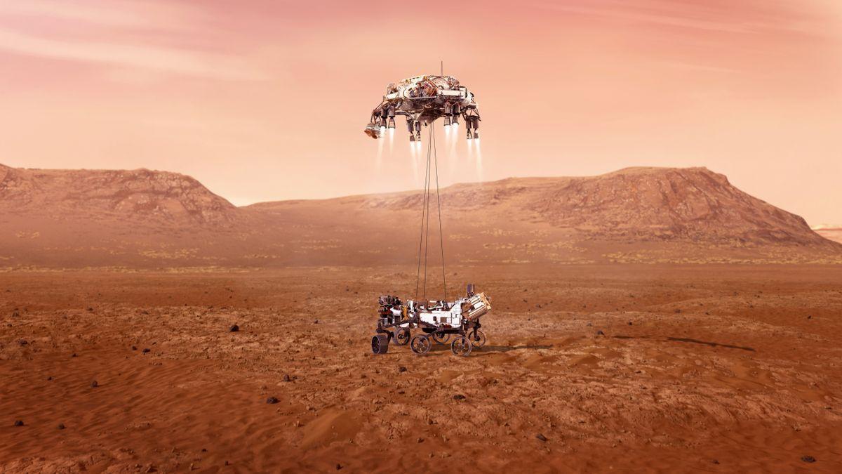 El rover Perseverance aterriza con éxito en la superficie de Marte