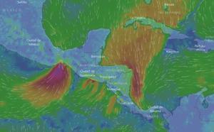 Honduras declara alertas amarilla y verde por frente frío que dejará lluvias