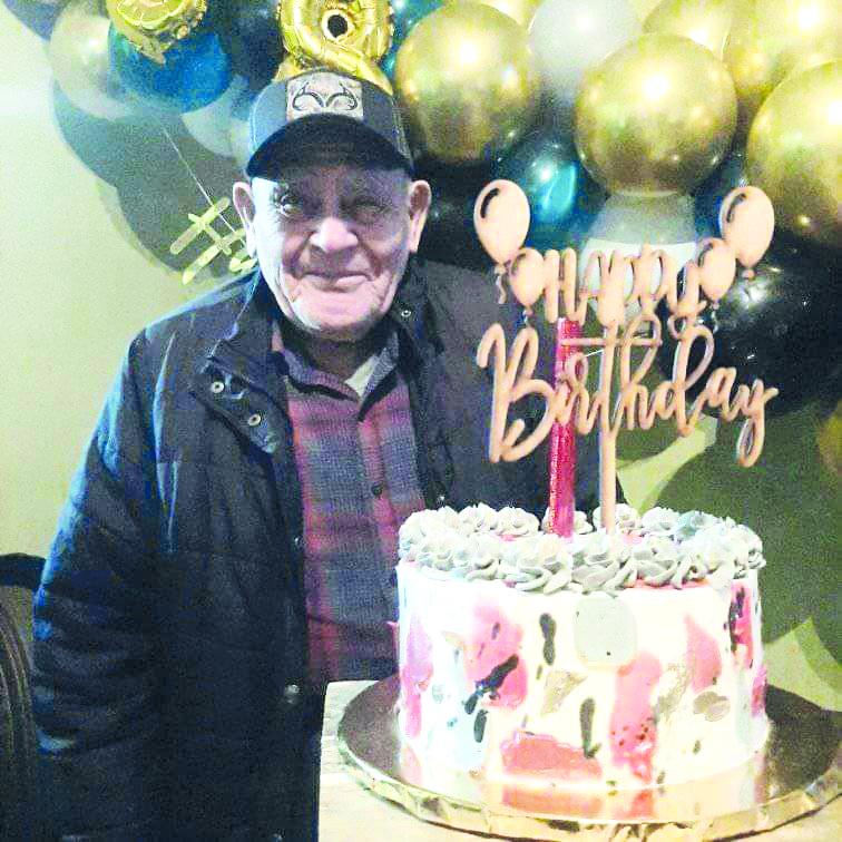Don Fautino  cumple 88 años