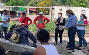 CNDH vigila respeto a migrantes en sureste del país