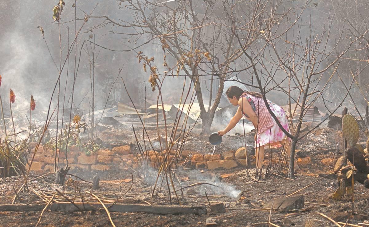Incendios en bosques dejan en emergencia a cinco municipios