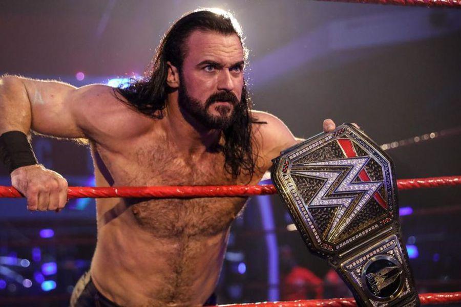 Drew McIntyre: Defiende su corona WWE