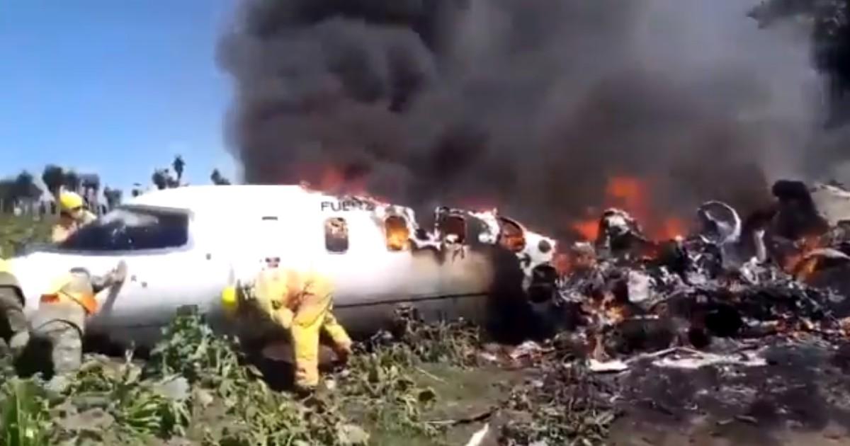 Lamenta AMLO muerte de militares en accidente aéreo