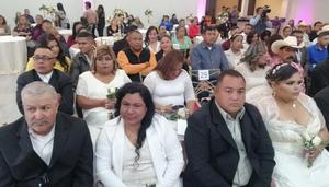 Casará el DIF a 76 parejitas en Frontera