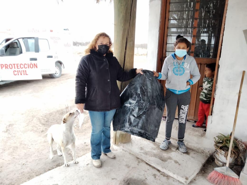 Familia  vulnerable de 8 miembros recibe ayuda en San Buenaventura