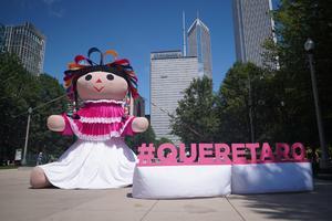 Lele, la muñeca artesanal que ya tiene estatua en Querétaro