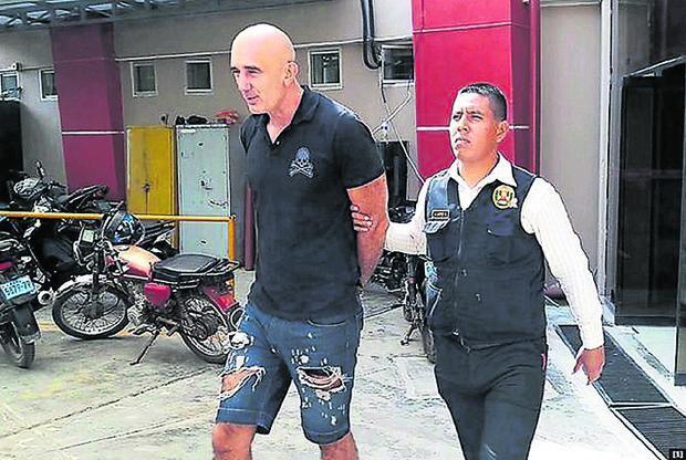 Perú condena al serbio Zoran Jaksic a 25 años de cárcel por narcotráfico