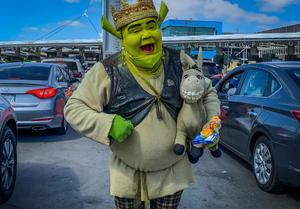 El 'Shrek de Tijuana' la historia del hombre que lucha por un bien común