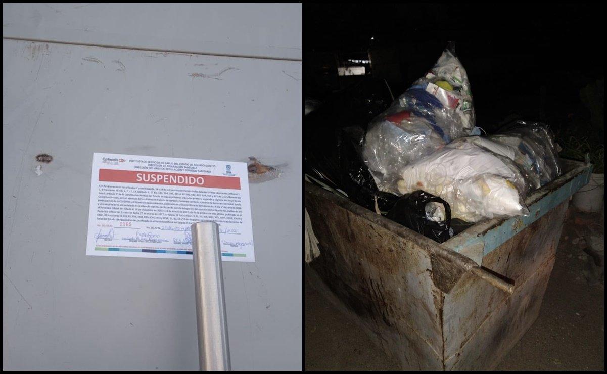 Clausuran hospital en Aguascalientes por mal manejo de desechos