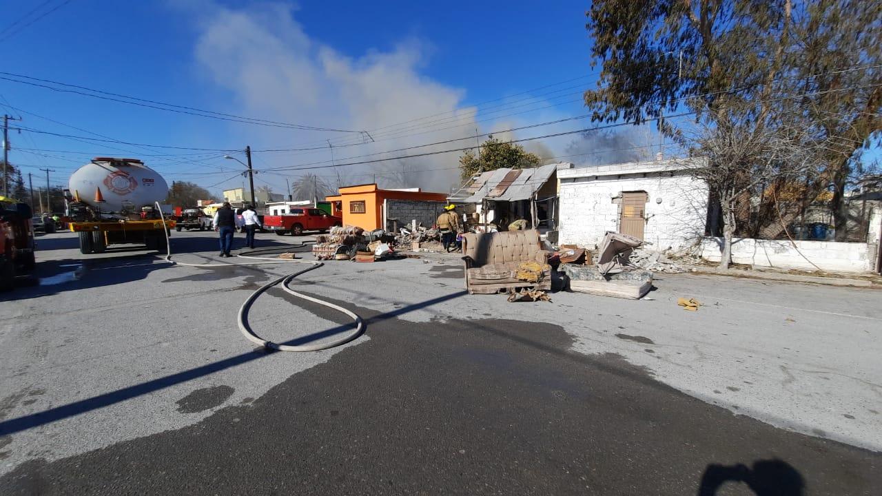 Iba a almorzar e incendia la casa en Frontera