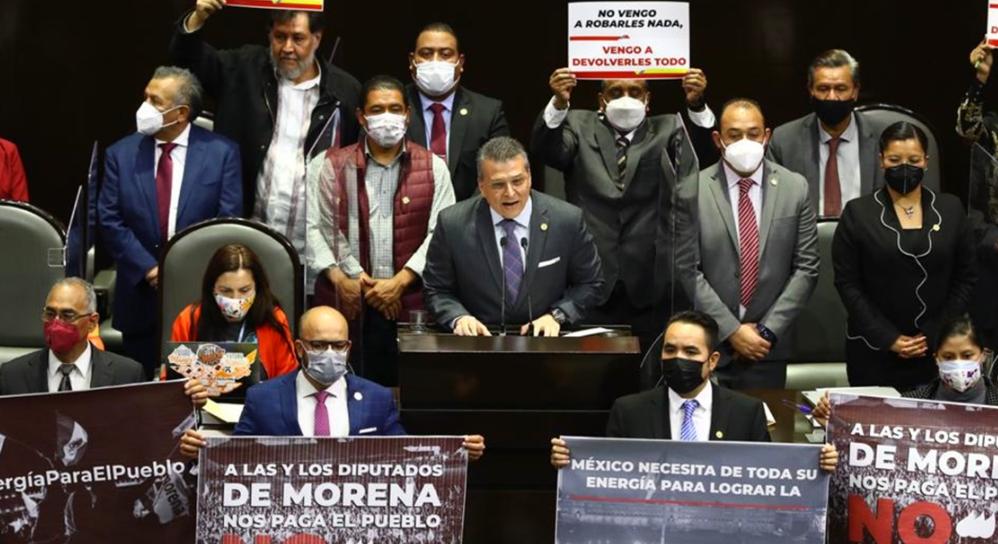 Diputados inician debate de contrarreforma eléctrica de AMLO