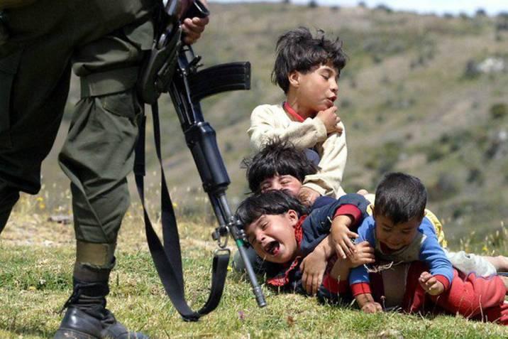 Los niños, las principales víctimas del conflicto armado colombiano