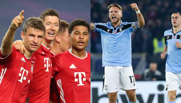 3-0 aplasta Bayern a la Lazio al descanso