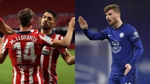 0-0 al medio tiempo Atlético de Madrid y Chelsea