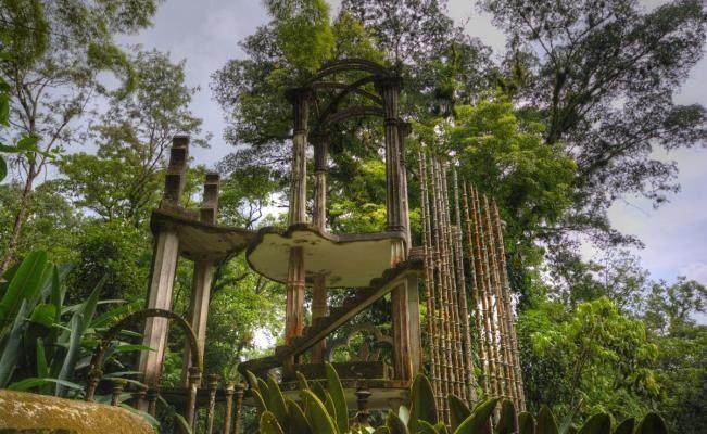 Alerta Jardín Escultórico de Xilitla sobre evento falso