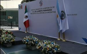Inicia visita oficial de Alberto Fernández al Senado de la República