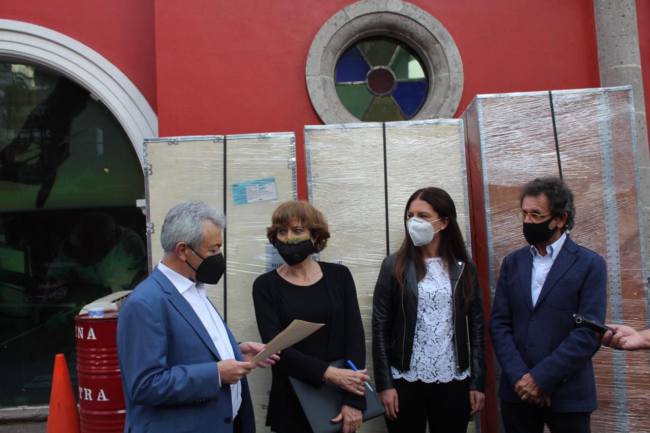 Comunidad Judía dona ultra congeladores para vacunas en CDMX
