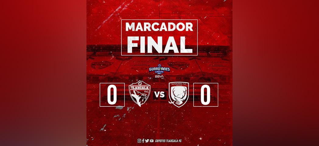 Tlaxcala y Venados empatan sin goles en la Liga Expansión