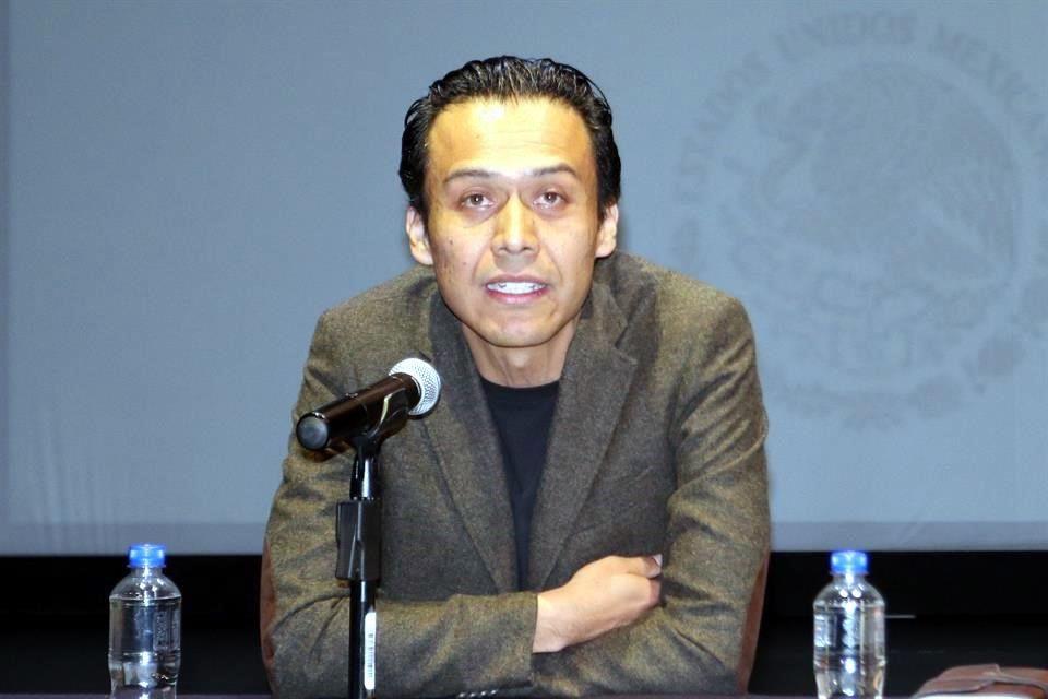 SC confirma salida de Marx Arriaga, director general de Bibliotecas