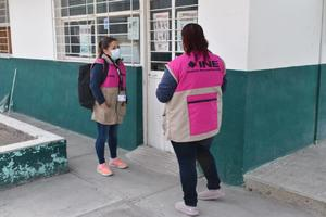 Supervisan en Castaños espacios para instalar casillas electorales en junio
