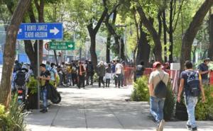 Vendedores de marihuana delSenado protestan por su retiro