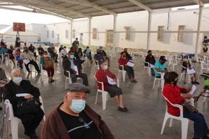 Vacunarán a 220 adultos que no fueron llamados en Frontera