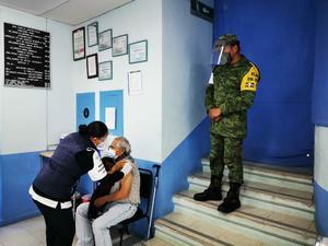 Este lunes inicia vacunación de adultos mayores de Ciudad Valles