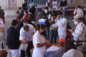 Aplicarán 20 mil vacunas contra el COVID-19 esta semana en Monclova