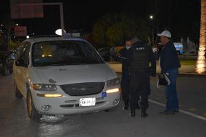 Policía Estatal causa accidente