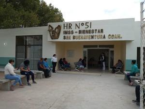 Atraso en construcción de clínica 51 del IMSS en San Buenaventura
