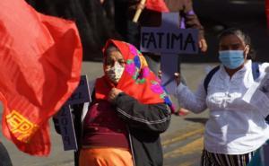 Mujeres toman calles de Oaxaca para exigir alto a la violencia