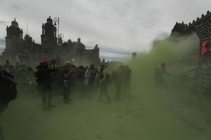 Reporta CDMX saldo de 62 policías y 19 civiles lesionadas tras marcha del 8M