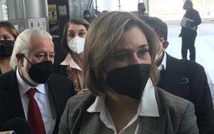 Aplazan 24 hrs audiencia de Maru Campos en Chihuahua