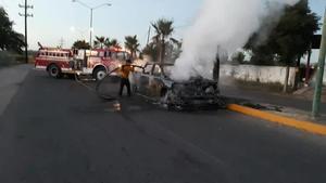 Reportan enfrentamientos y quema de vehículos en Sinaloa