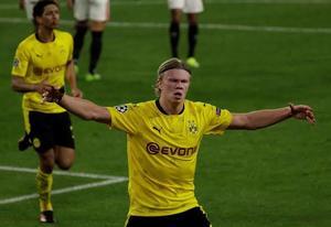 Borussia Dortmund lo gana 1-0 al medio tiempo sobre Sevilla